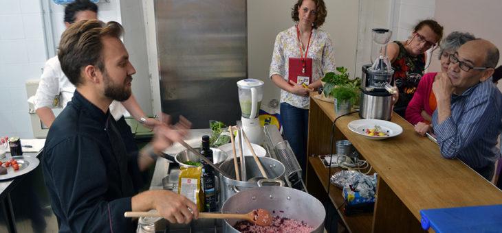 Cucina, benessere e musica: incontro con lo Chef Martino Beria